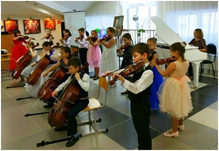 Ансамбль скрипачей и виолончелистов «Звёздочки»
